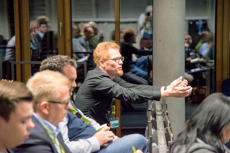 Foto: Zuhörer im Publikum des WUD 2017